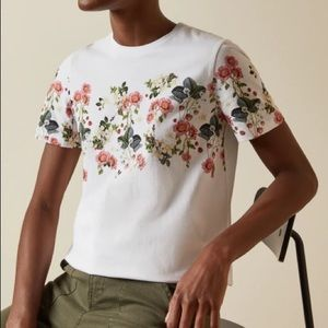 Ted Baker ROGAN Oracle printed cotton t-shirt - Ted size 4 (large)